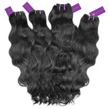4 x Wavy Virgin Weave Bundle Deal