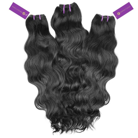 3 x Wavy Virgin Weave Bundle Deal | Perfect Locks