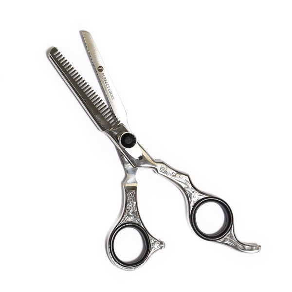 Professional Barber Shears & Straight Blade Set