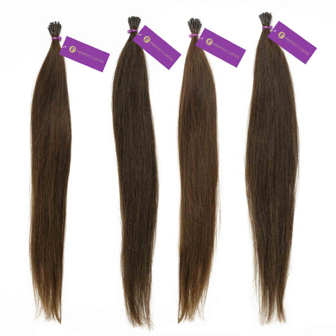 Straight Fusion I-Tip Hair Extension Bundle Deal | Perfect Locks