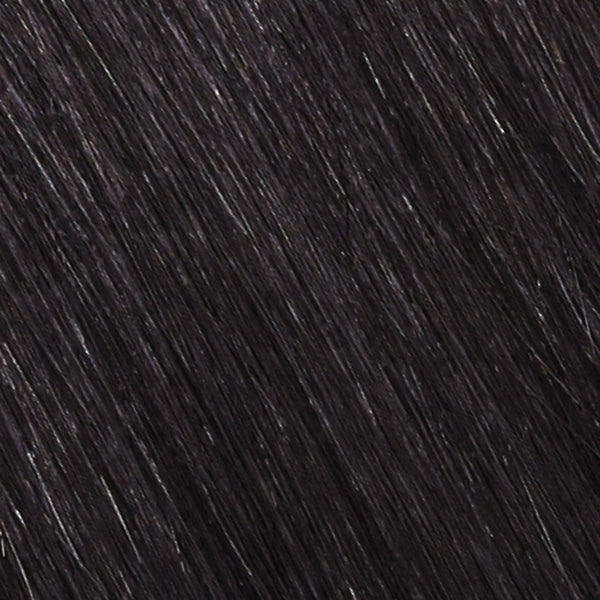 straight skin weft texture close-up