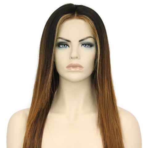Sun-kissed Lace Front Wig