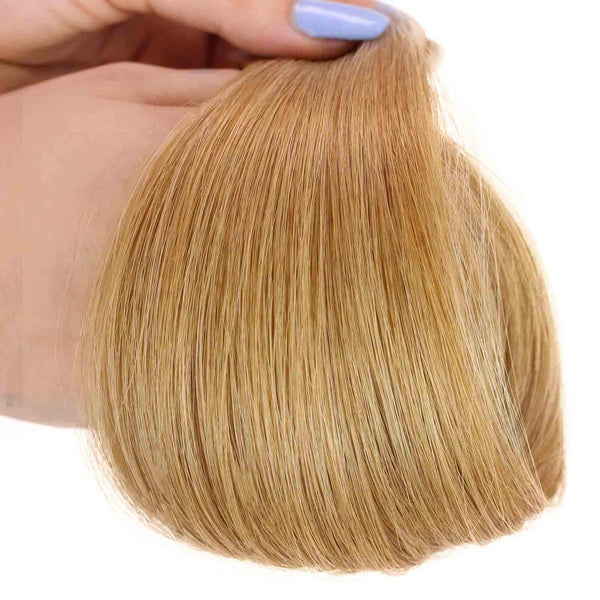 straight tape-in hair texture