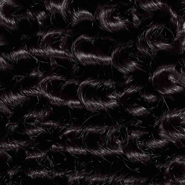 2 x Tight Curly Steam Permed Weave Bundle Deal