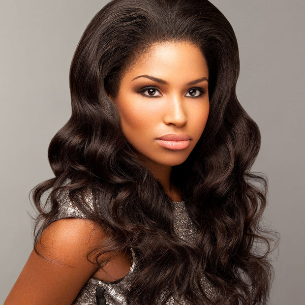 wavy virgin hair weave