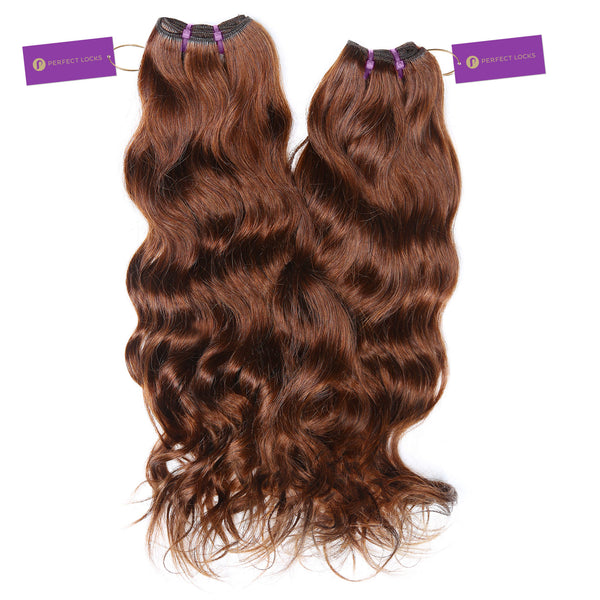 2 x Wavy Colored Weave Bundle Deal