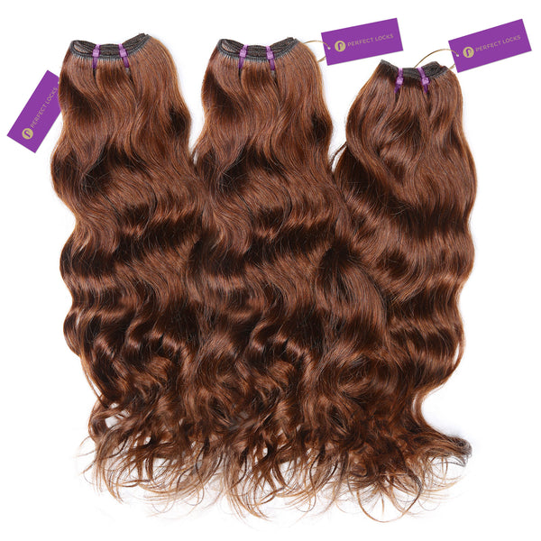 3 x Wavy Colored Weave Bundle Deal
