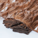 hand-teid weft extensions
