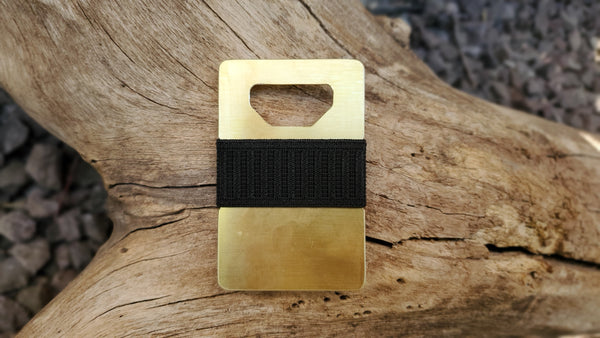 Spine Wallet - Brass