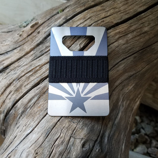 Spine Wallet - AZ Flag