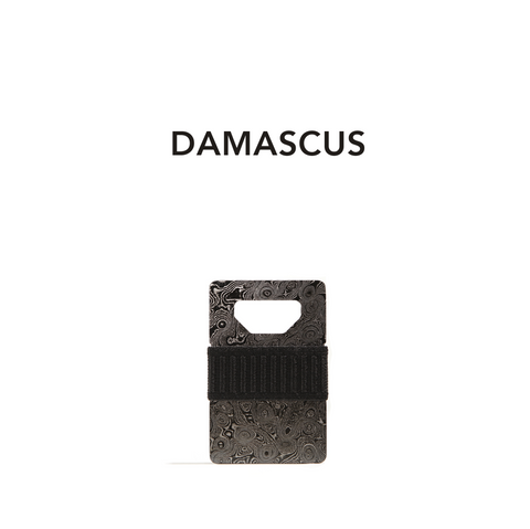 Spine Wallet - Damascus