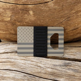 Spine Wallet - USA Flag