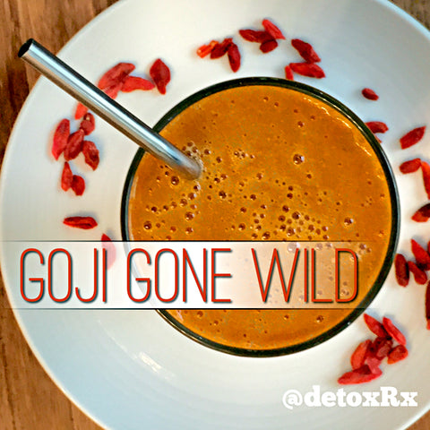 Goji Gone Wild Smoothie