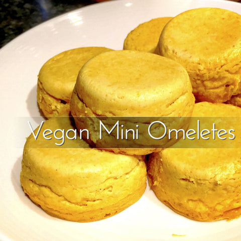 Vegan Mini Omeletes