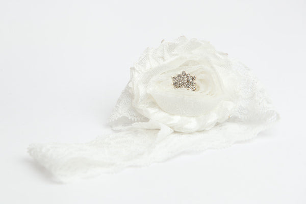 Satin Rosette Lace Couture Garter