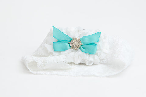Something Blue Couture Garter