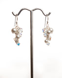 Small Grape Earrings I210