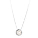 Atticus Large Charm Necklace With Box Chain - Long | Pearl Detail