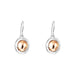 Atticus Large Drop Earrings | Polished Rose Detail