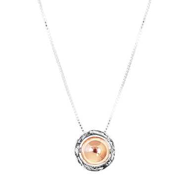 Atticus Large Necklace | Polished Rose Detail
