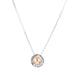 Atticus Medium Necklace | Polished Rose Detail