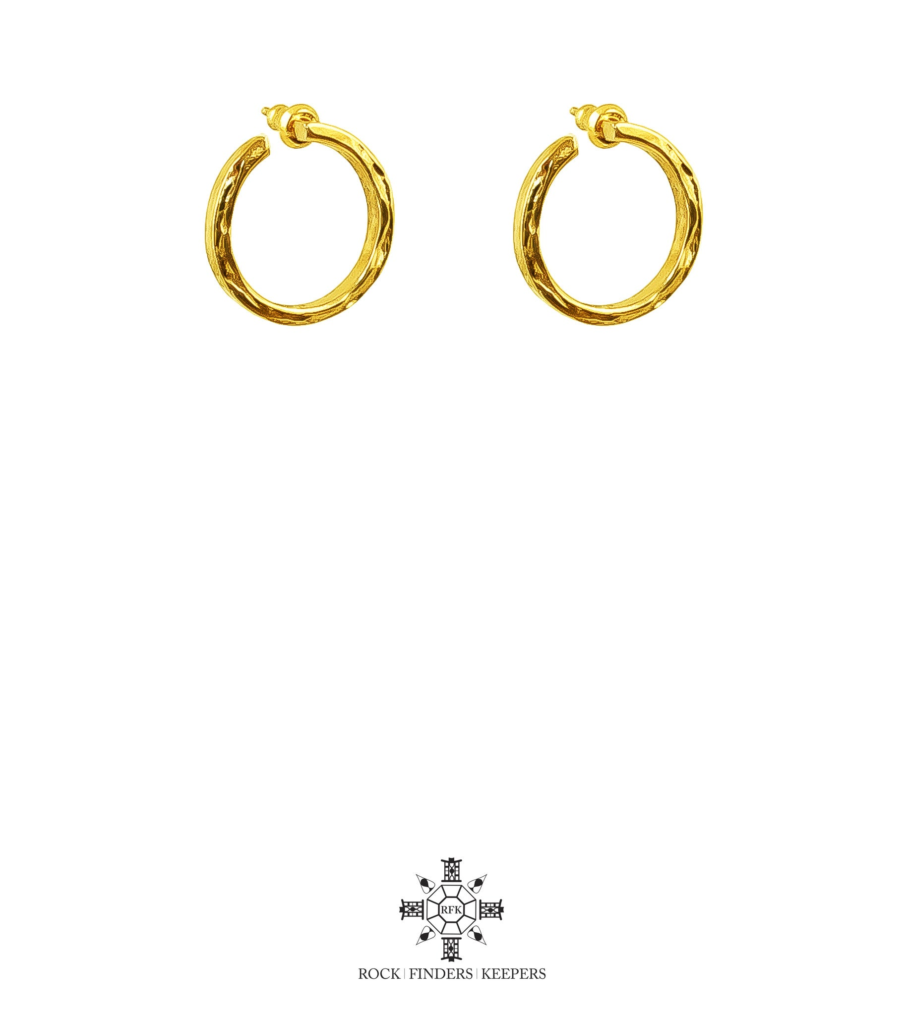 Cuba Earrings | Gold