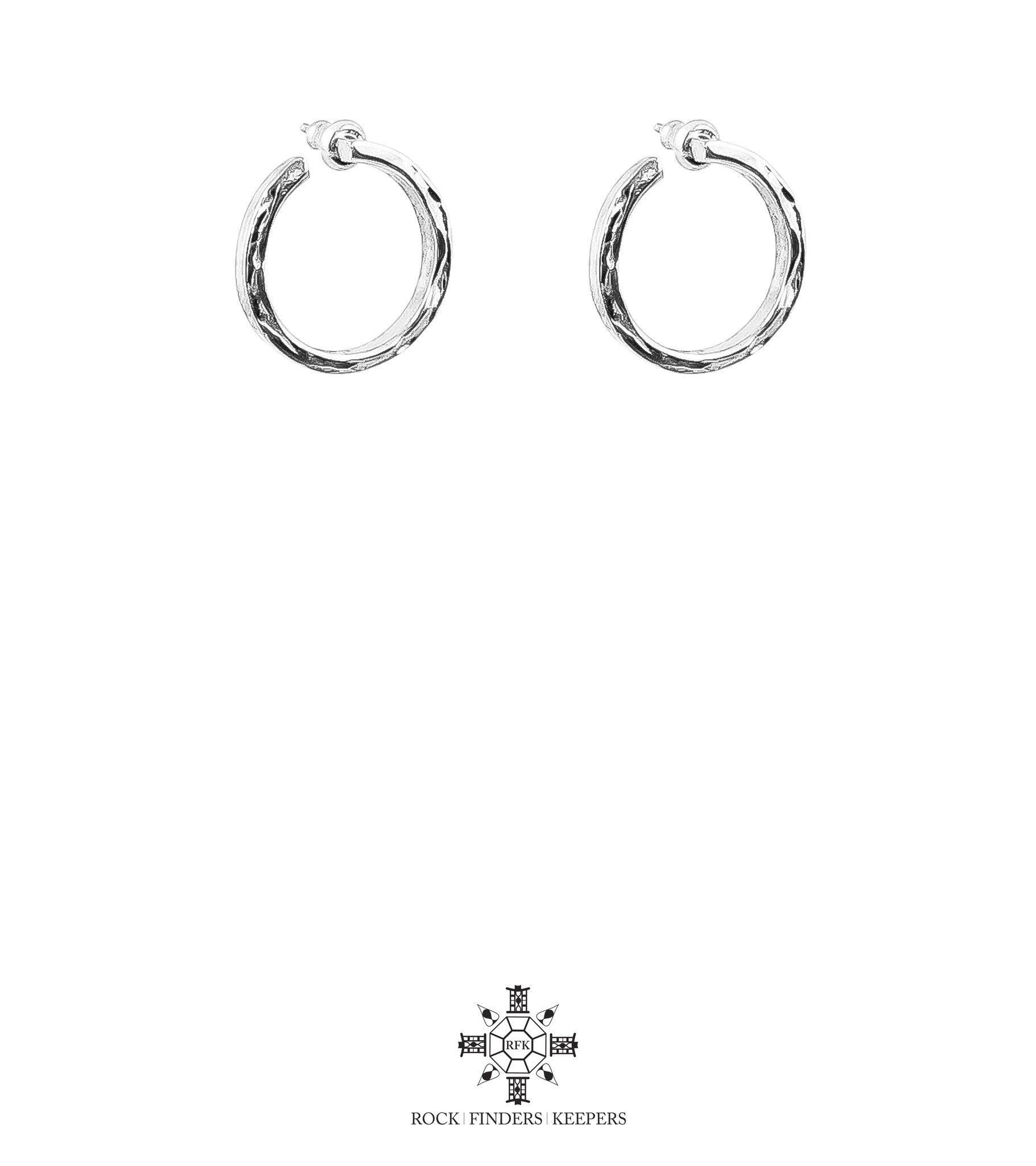 Cuba Earrings | Silver