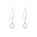Catia Statement Hook Earrings | Pearl Detail