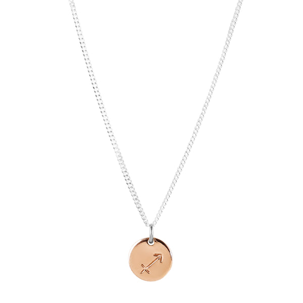 Charlotte Zodiac Necklace | Rose