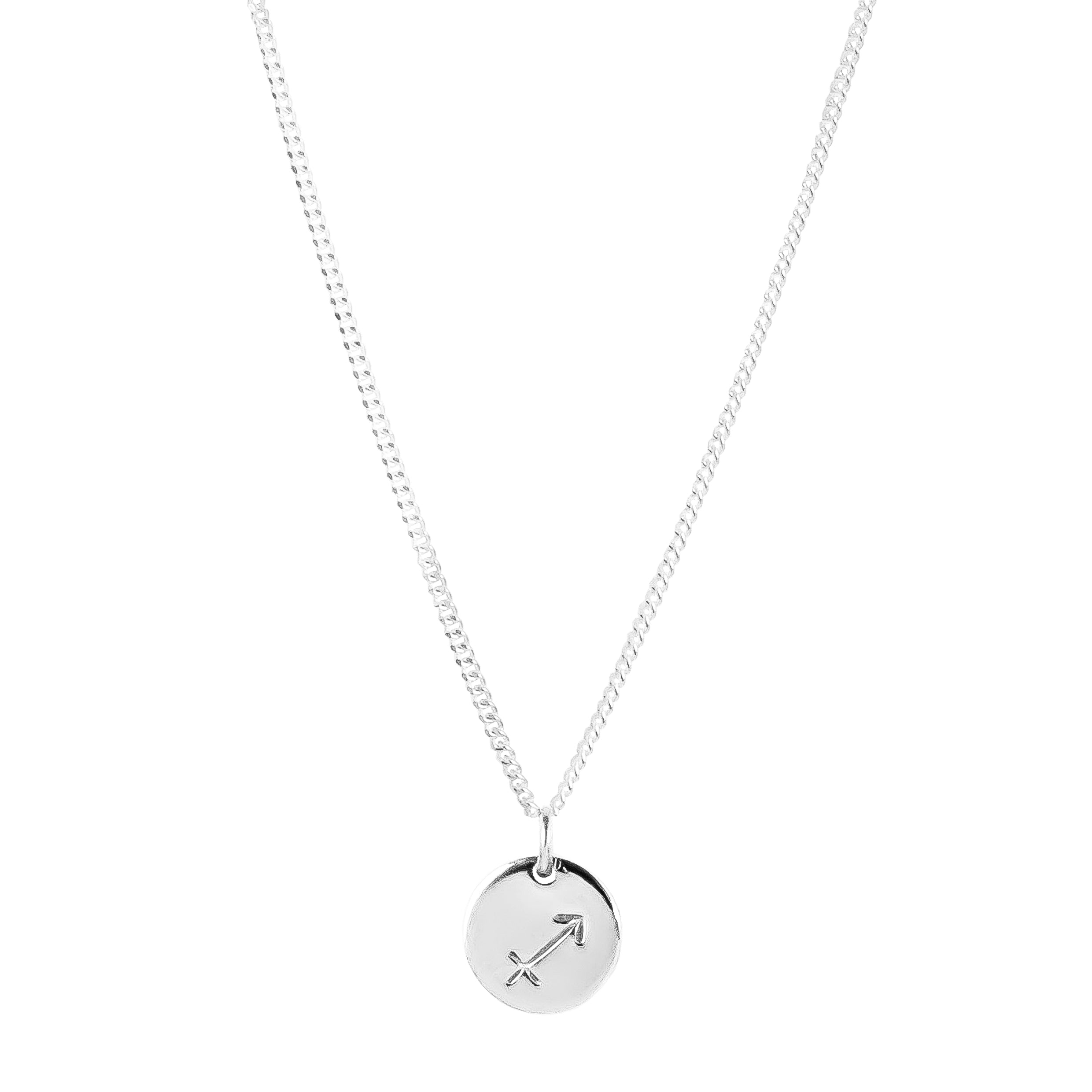 Charlotte Zodiac Necklace | Silver