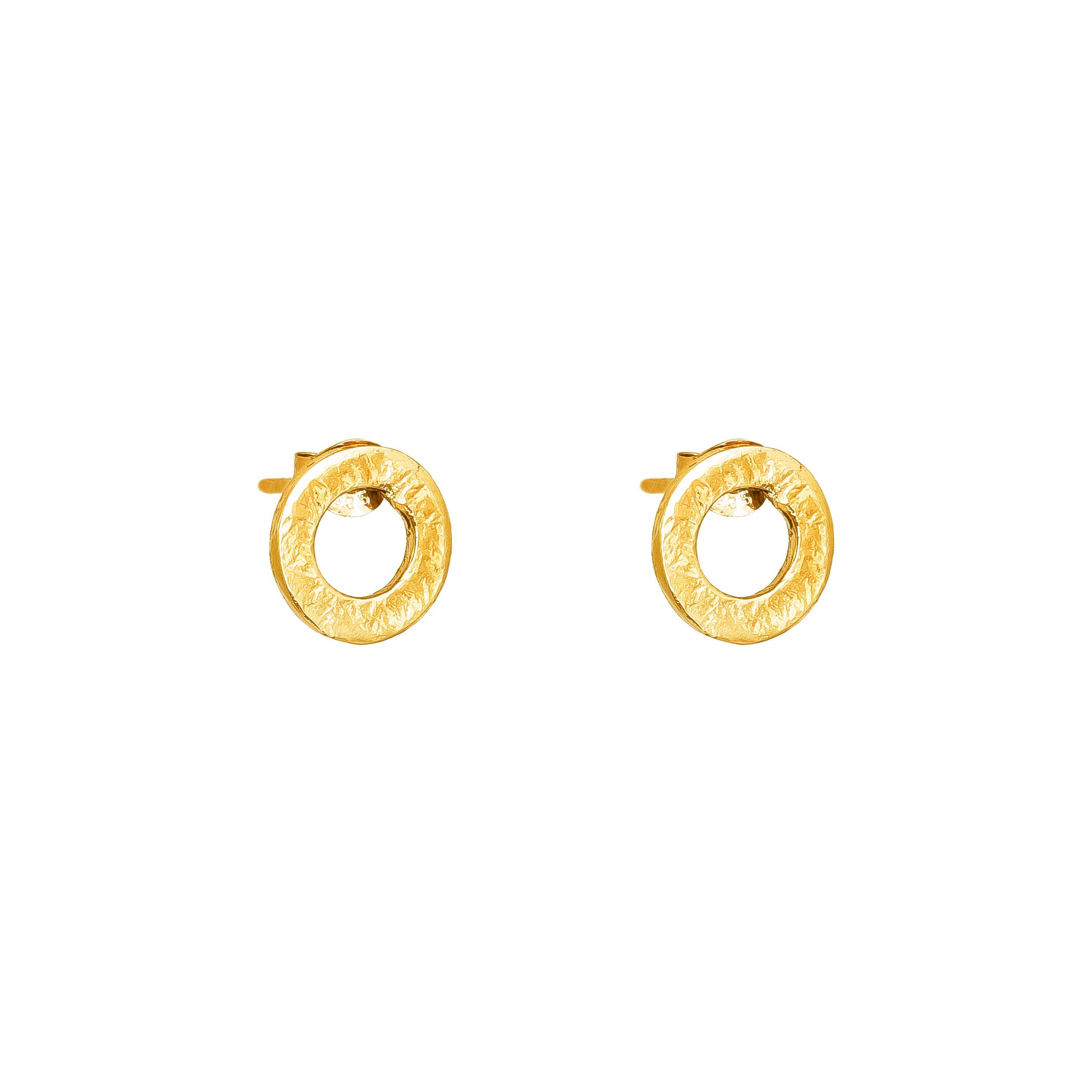 Chloe Stud Earrings | Gold