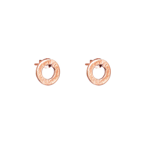 Chloe Stud Earrings | Rose