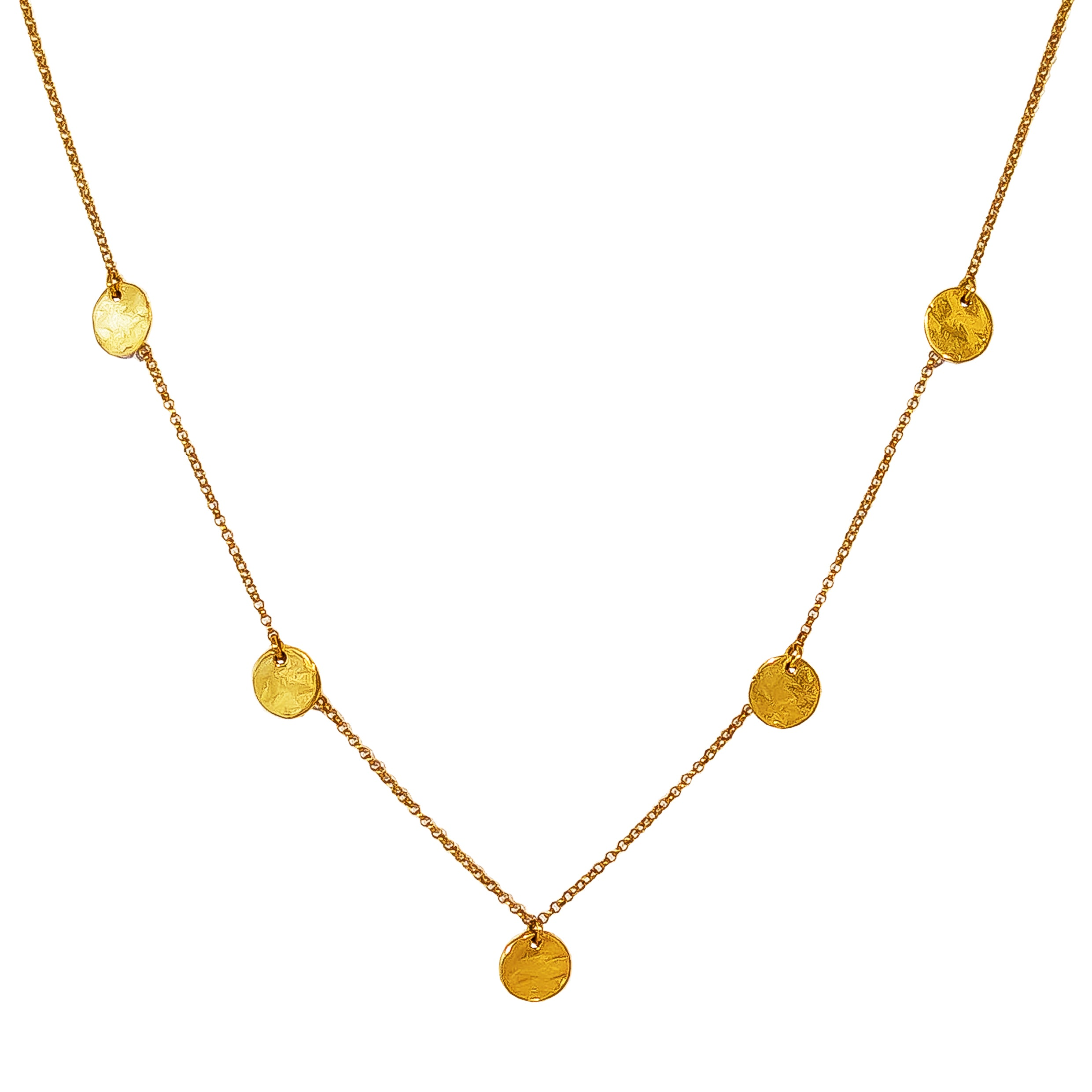 Coco Fine Necklace | All Gold