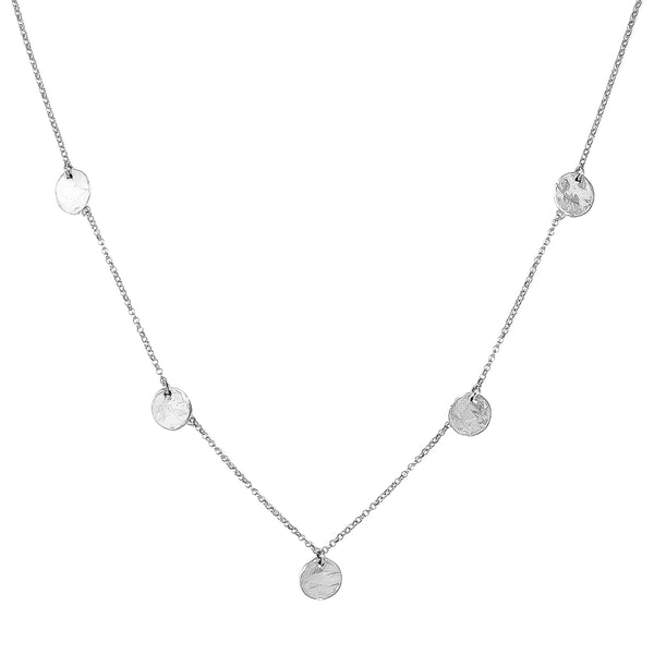 Coco Fine Necklace | Silver Detail