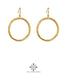 Harper Large Hoop Earrings | Gold