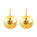 Harlow Large Disc Earrings | Gold