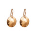 Harlow Medium Disc Earrings | Rose