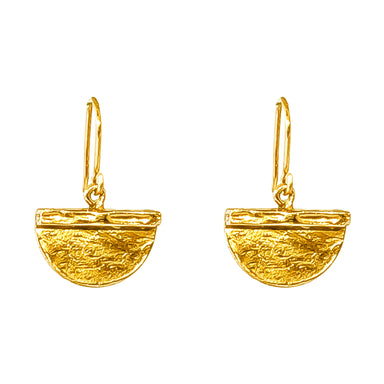 Inka Medium Earrings | Gold
