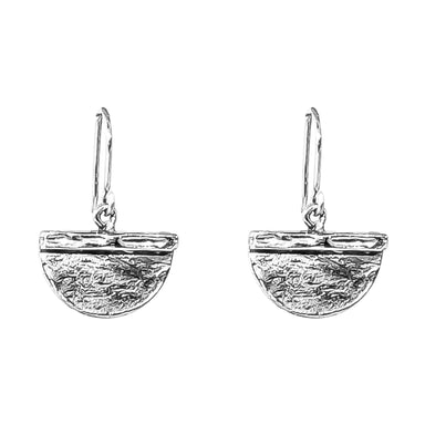 Inka Medium Earrings | Silver