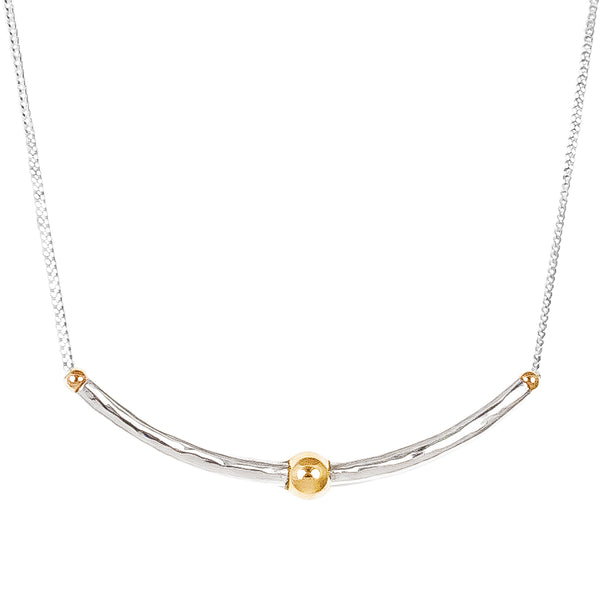 Isla Necklace | Gold Detail