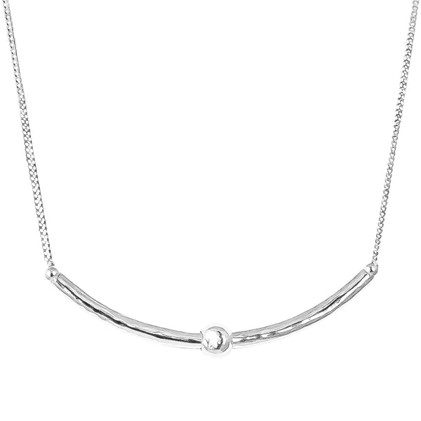Isla Necklace | Silver Detail