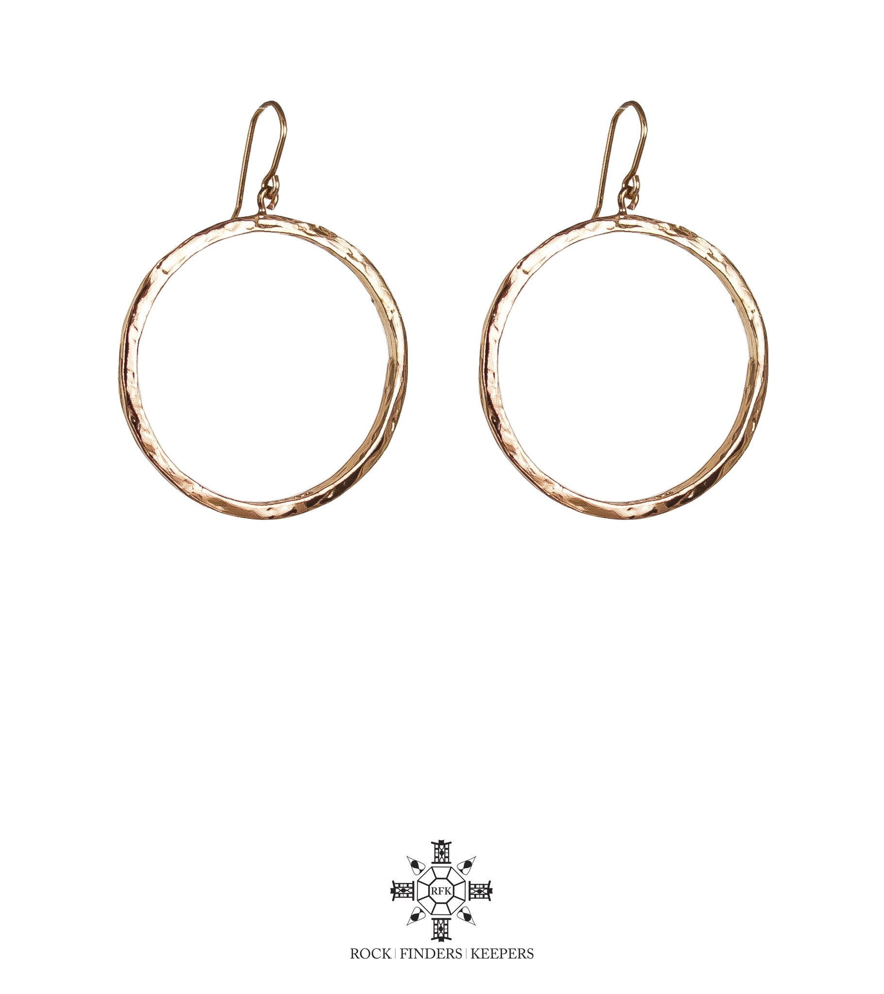Mason Large Hoop Earrings | Rose