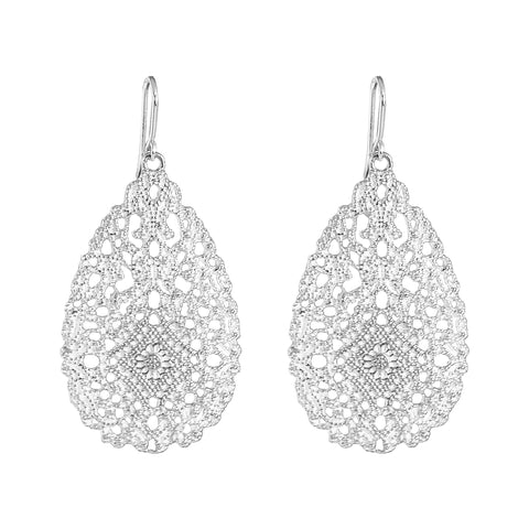 Olympia Earrings | Silver