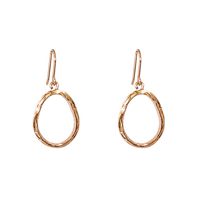 Paradis Medium Drop Earrings | Rose