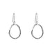 Paradis Medium Drop Earrings | Silver