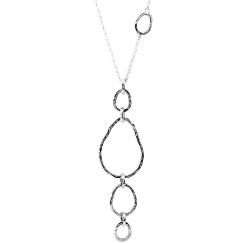 Paradis Necklace - Long | Silver
