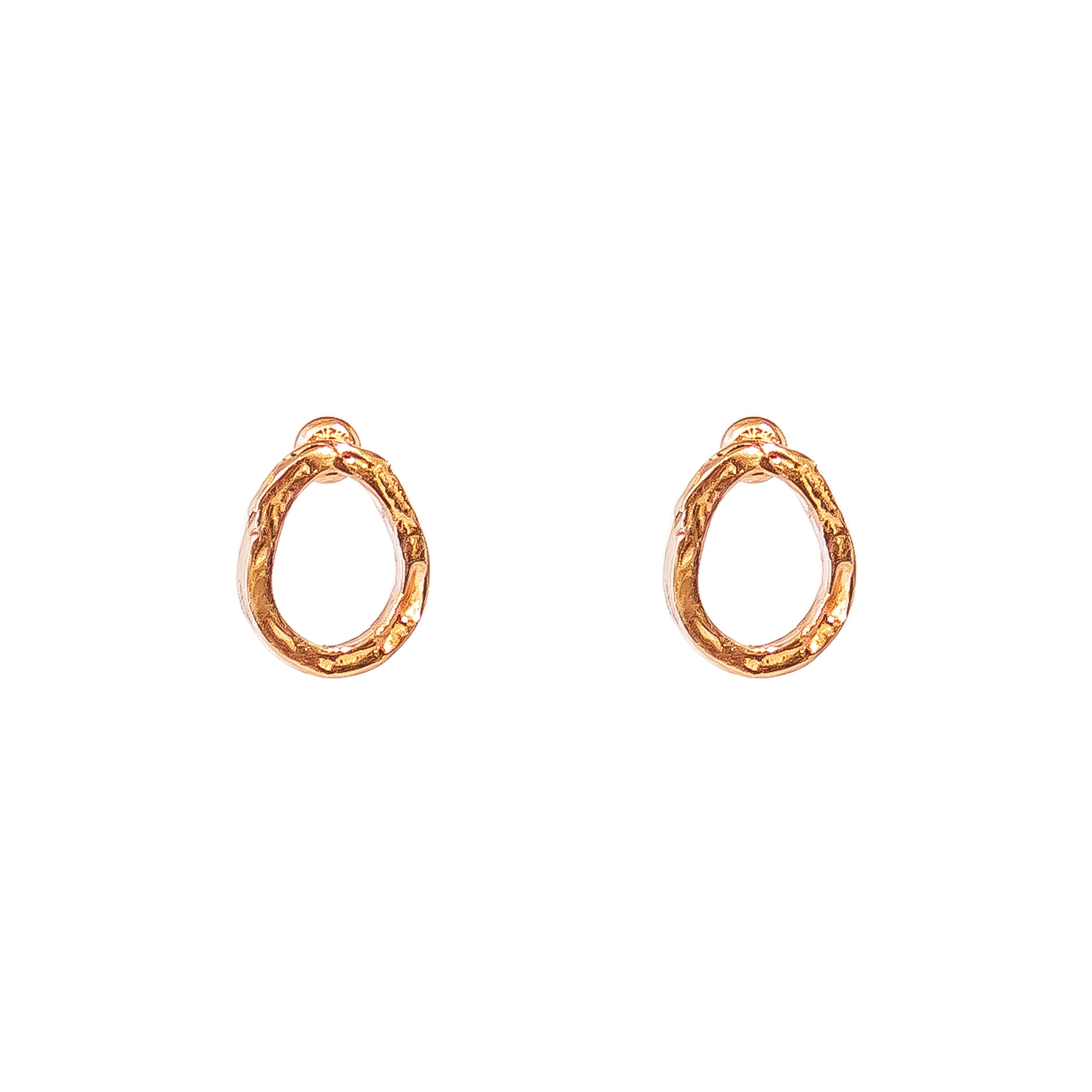 Paradis Stud Earrings | Rose