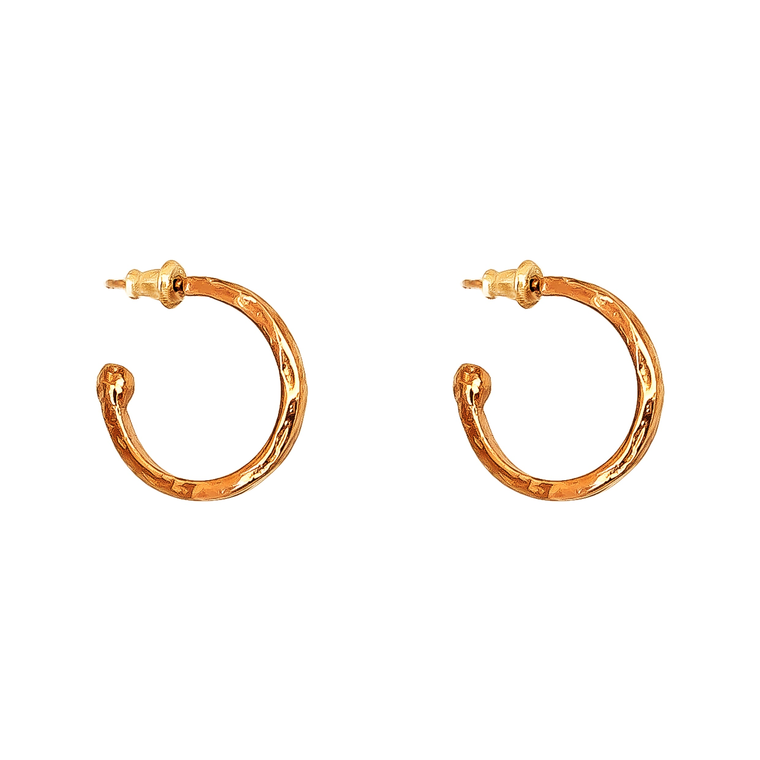 Phoenix Medium Hoop Earrings | Rose
