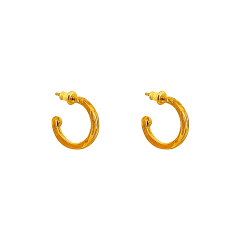 Phoenix Small Hoop Earrings | Gold