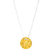 Vesper Small Disc Necklace | Gold